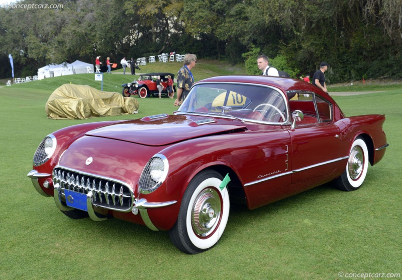 1954 Chevrolet Corvette Corvair Concept