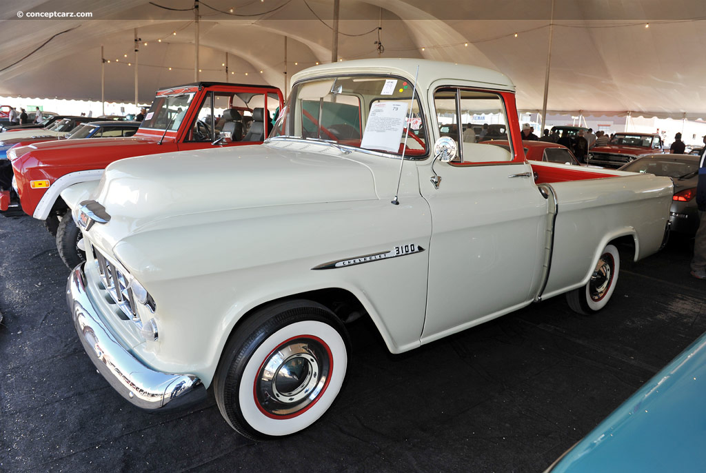 Bj Car Sales >> Auction results and sales data for 1955 Chevrolet Cameo Carrier - conceptcarz.com