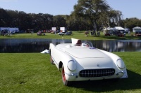 1954 Chevrolet Corvette Test Mule.  Chassis number VE55S001399