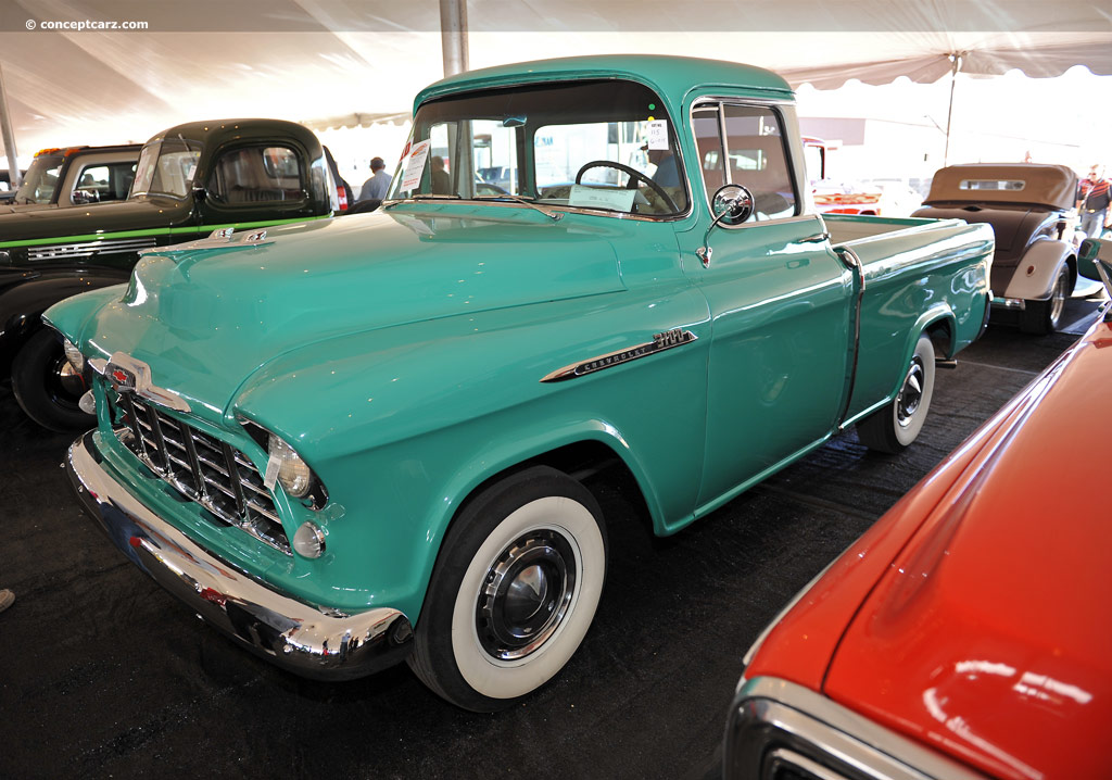 1956 Chevrolet Cameo Carrier History Pictures Value