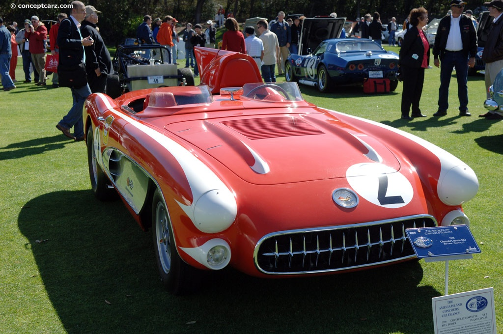 Reproduction Corvette Body >> 1956 Chevrolet Corvette SR2 Image. Chassis number 2. Photo 31 of 31