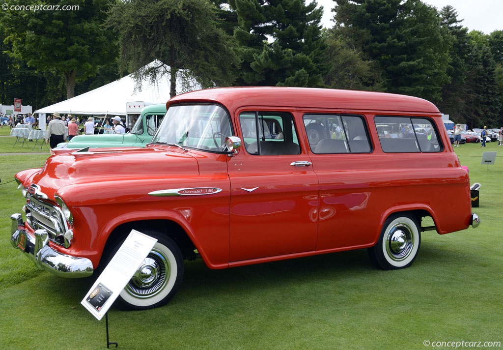 Fireball Truck Sales >> Auction results and sales data for 1957 Chevrolet Series 3100 - conceptcarz.com