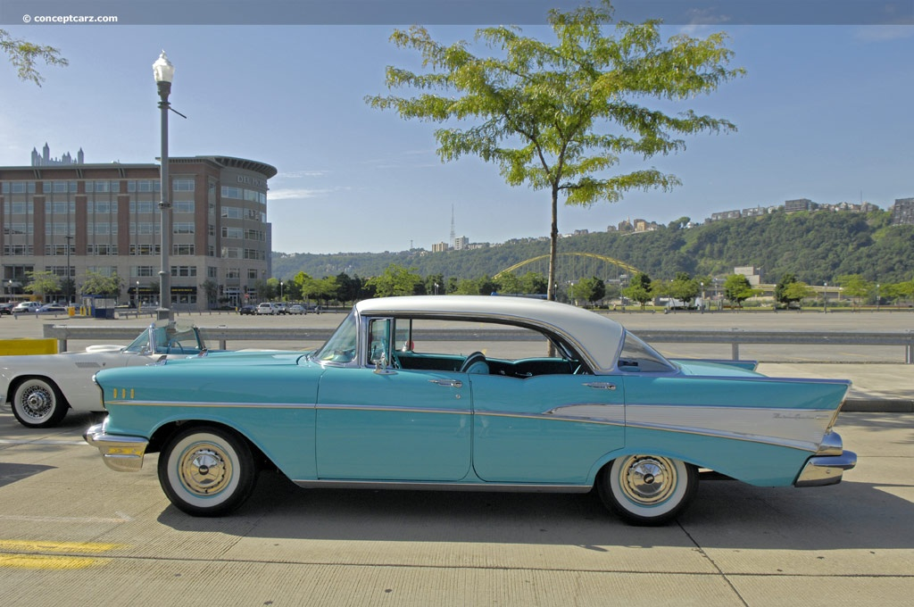 Belair Auto Auction >> 1957 Chevrolet Bel Air technical and mechanical specifications