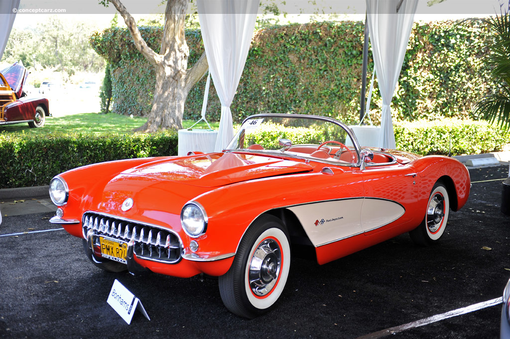 auction results and sales data for 1957 chevrolet corvette c1. Black Bedroom Furniture Sets. Home Design Ideas