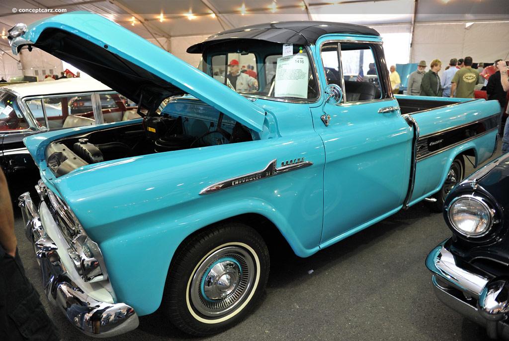 1958 Chevrolet Cameo Carrier | conceptcarz.com