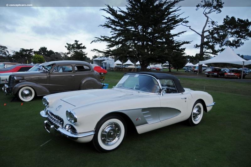 Reproduction Corvette Body >> 1958 Chevrolet Corvette C1 Image. Chassis number J58S102032. Photo 21 of 90