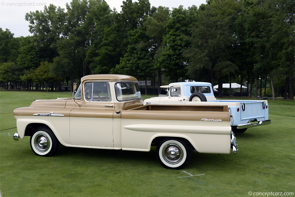 1958 Chevrolet Apache History, Pictures, Sales Value, Research and News
