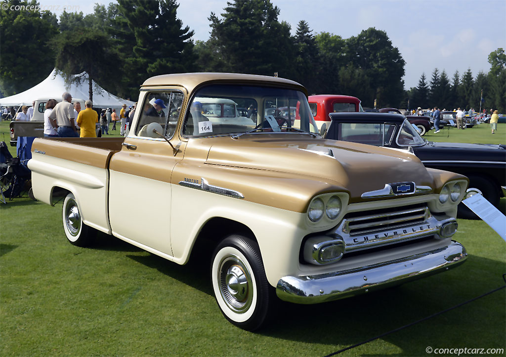 1958 Chevrolet Apache at the Concours d'Elegance of ...
