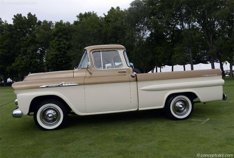1958 Chevrolet Apache History Pictures Value Auction Sales