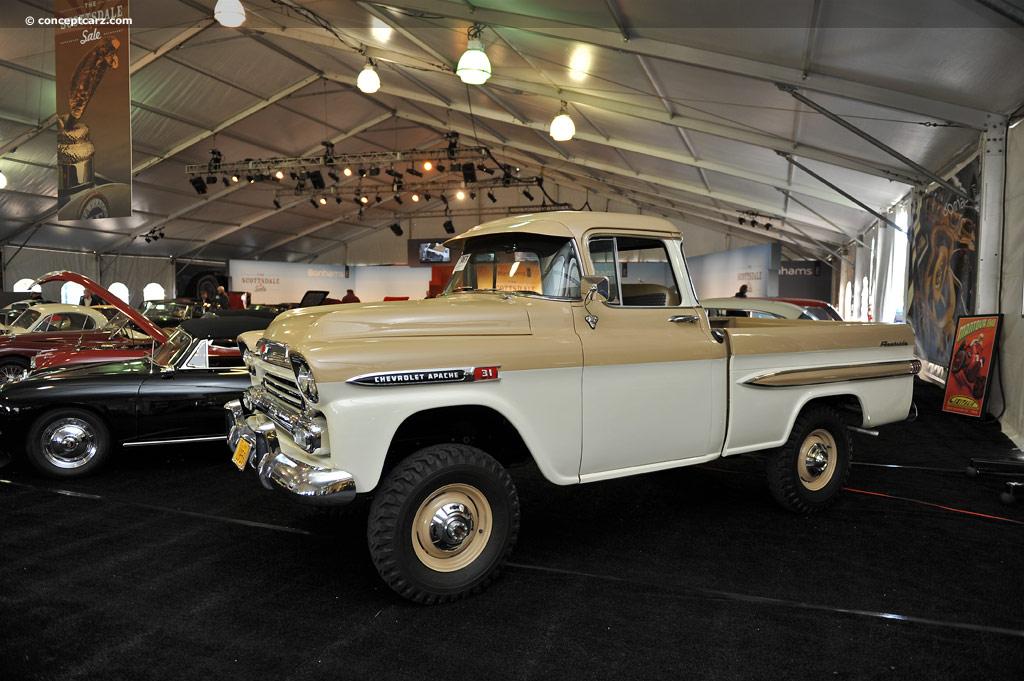 1959 Chevrolet Apache Conceptcarz Com
