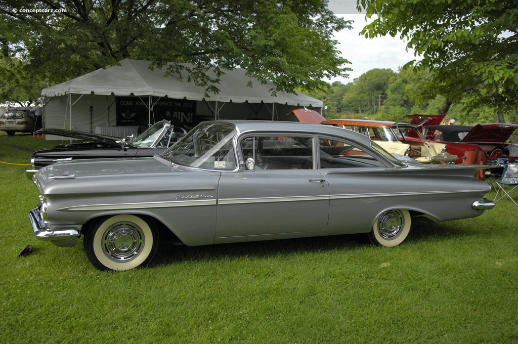 Belair Auto Auction >> 1959 Chevrolet Bel Air Series Pictures, History, Value, Research, News - conceptcarz.com