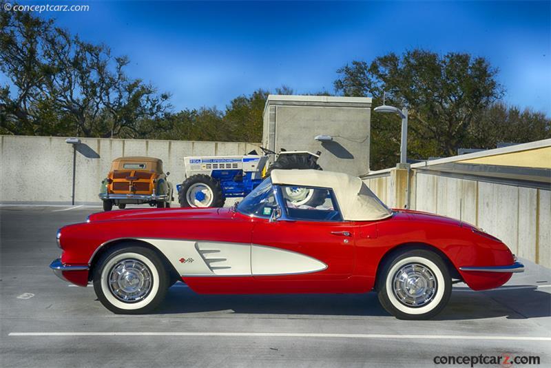 1959 Chevrolet Corvette C1 chassis information