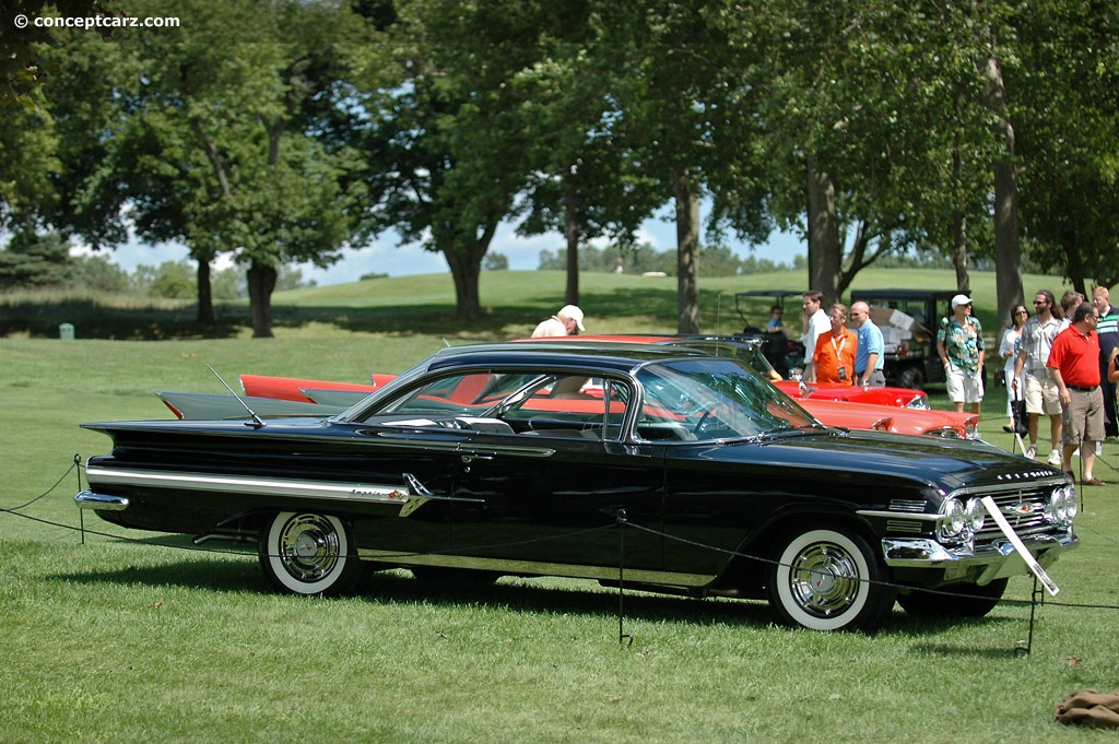 1960 Chevrolet Impala Series History Pictures Value Auction Sales