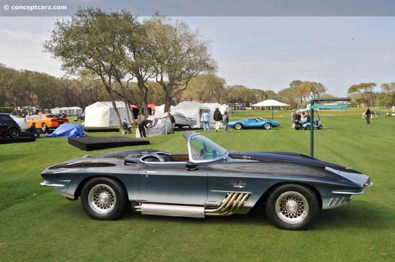 1961 Chevrolet Corvette Mako Shark I Xp 755 Image Https Www Conceptcarz Com Images Chevrolet