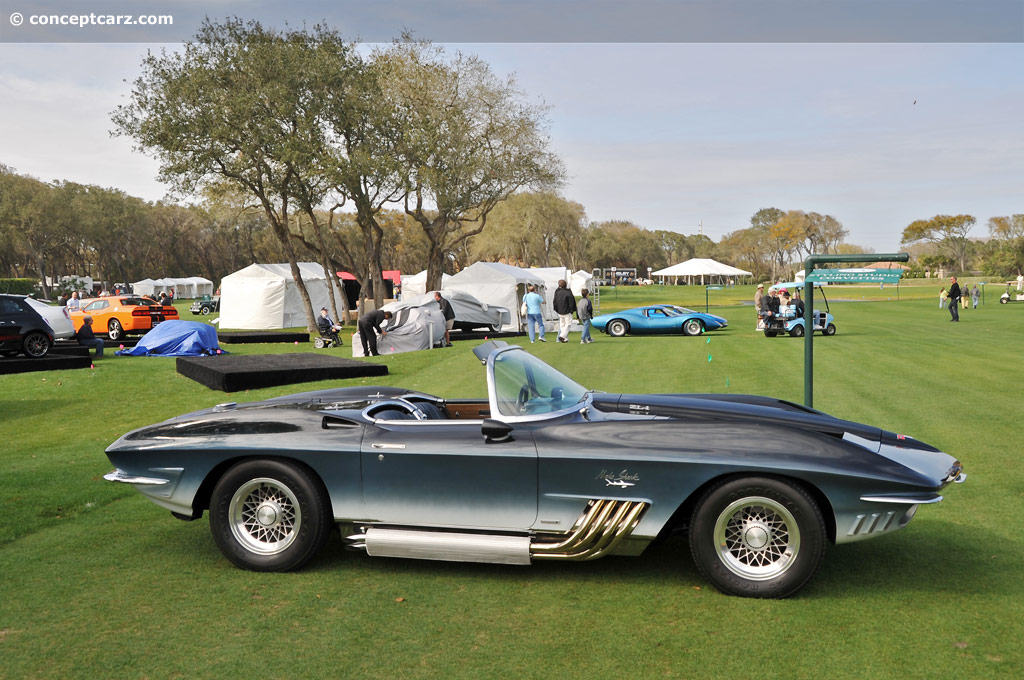 1961 chevrolet corvette mako shark i xp 755 history. Black Bedroom Furniture Sets. Home Design Ideas