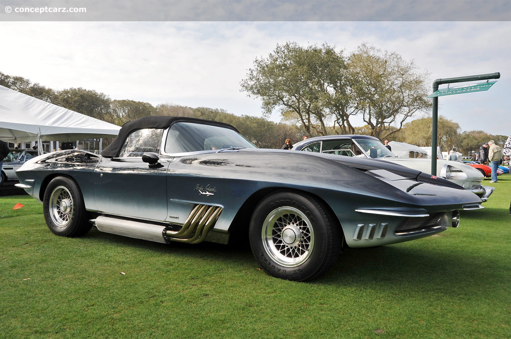 1961 chevrolet corvette mako shark i xp 755 image photo 8. Black Bedroom Furniture Sets. Home Design Ideas