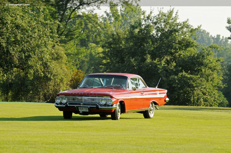 1961 Chevrolet Impala Series History Pictures Value