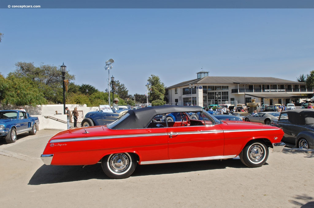 1962 Chevrolet Impala Series technical and mechanical