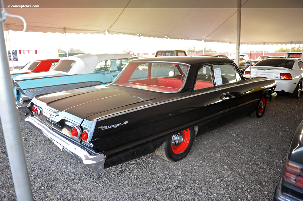 Auction results and sales data for 1963 Chevrolet Biscayne ...