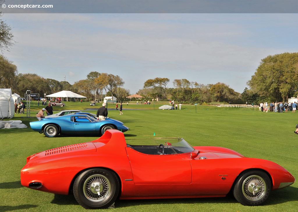 1963 Chevrolet Corvair Monza Ss Concept Image
