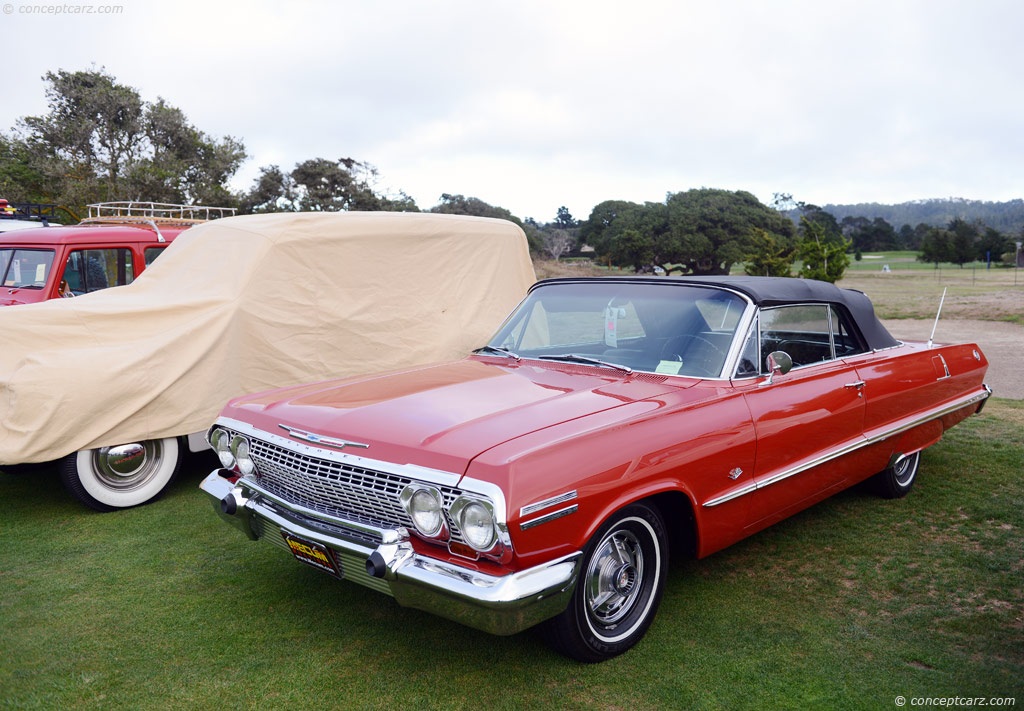 Auction Results and Sales Data for 1963 Chevrolet Impala Series