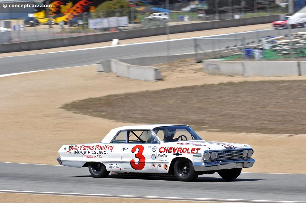 1963 Chevrolet Impala NASCAR Image