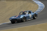 1963 Chevrolet Corvette Grand Sport Lightweight.  Chassis number 004