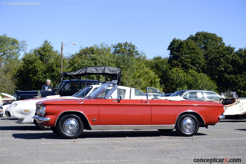 1964 Chevrolet Corvair Series 600 Monza Spyder Convertible 40967w163381 Chis Information