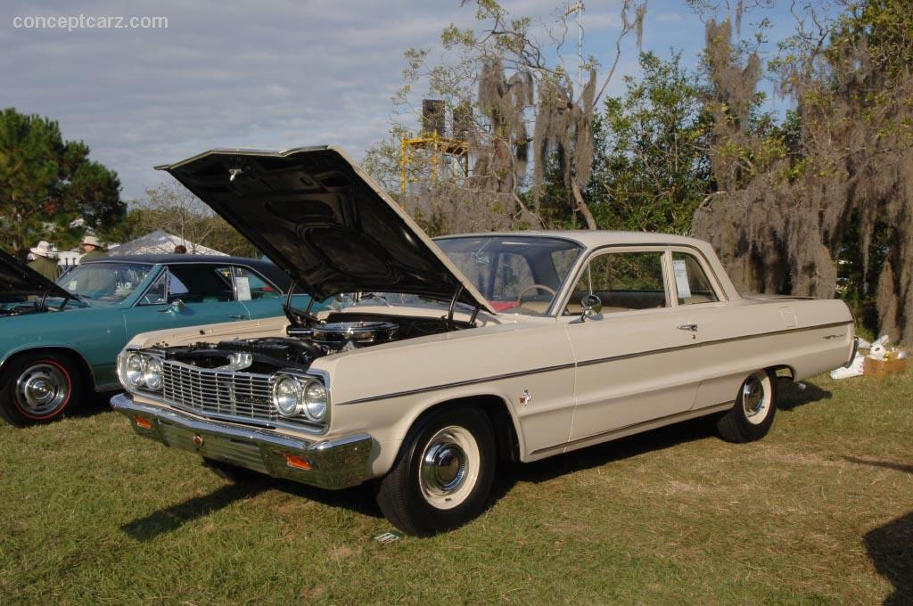 Belair Auto Auction >> 1964 Chevrolet Bel Air Series History, Pictures, Value, Auction Sales, Research and News