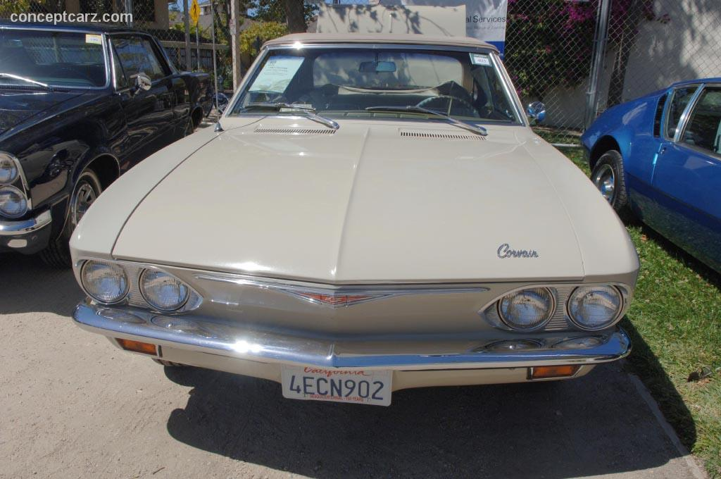 1965 Chevrolet Corvair Corsa Image Chassis Number
