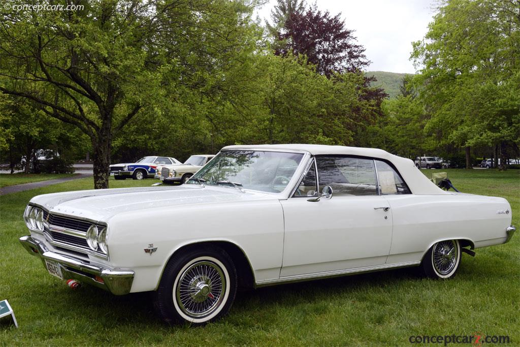 1965 Chevrolet Chevelle Malibu Technical And Mechanical Specifications