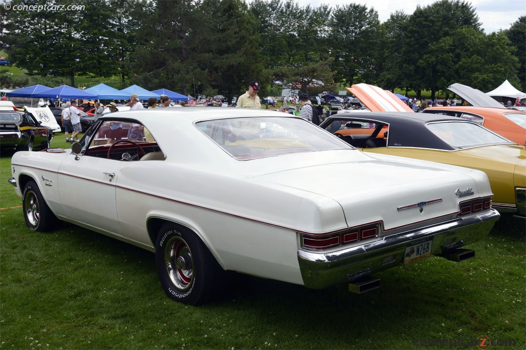 Auction Results and Sales Data for 1966 Chevrolet Impala Series