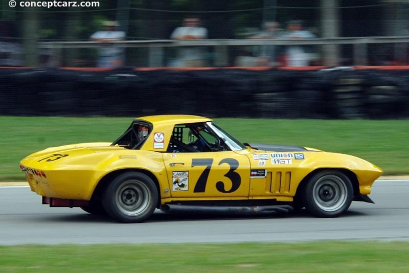 1966 Chevrolet Corvette C2 chassis information