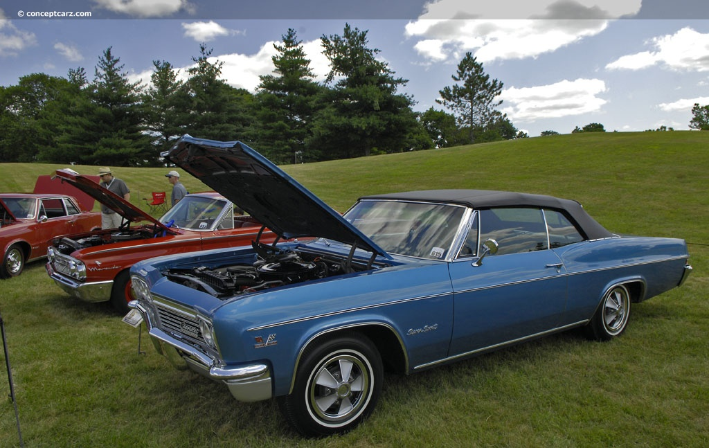 1966 Chevrolet Impala Series Technical And Mechanical