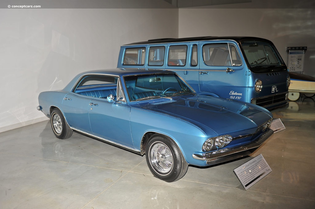 Electrovair Ii Exp Dv Gm on 1961 Corvair Convertible