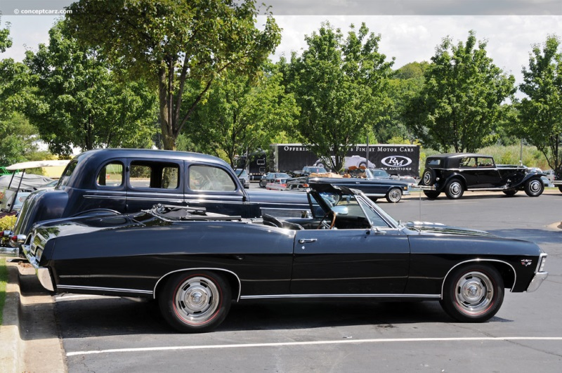 1967 Chevrolet Impala Series Image. Chis number 168677J221485 ...