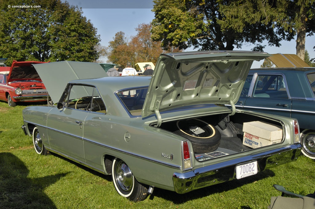 Auction Results And Sales Data For 1967 Chevrolet Nova Series