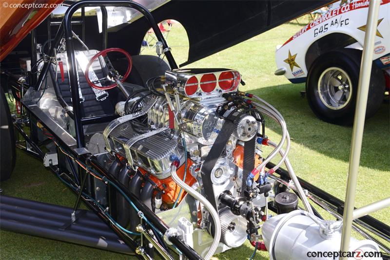 1967 Chevrolet Corvair Flip Top Funny Car