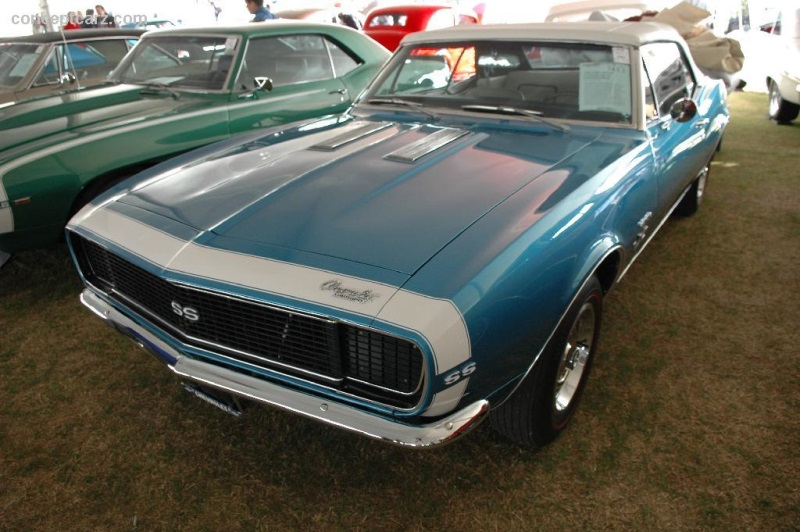1967 Chevrolet Camaro Series