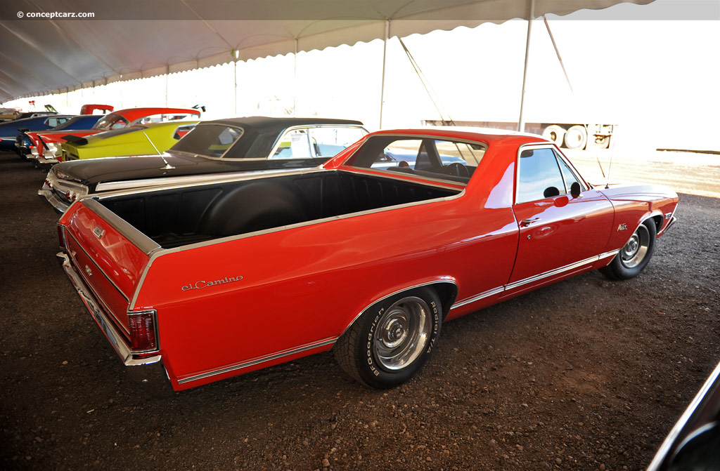 1968 Chevrolet El Camino History Pictures Value Auction