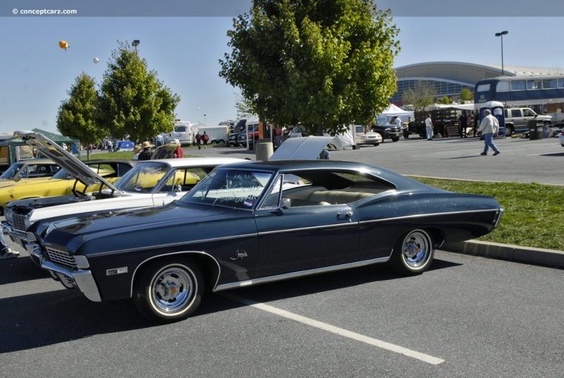 1968 Chevrolet Impala Series History, Pictures, Sales Value ...