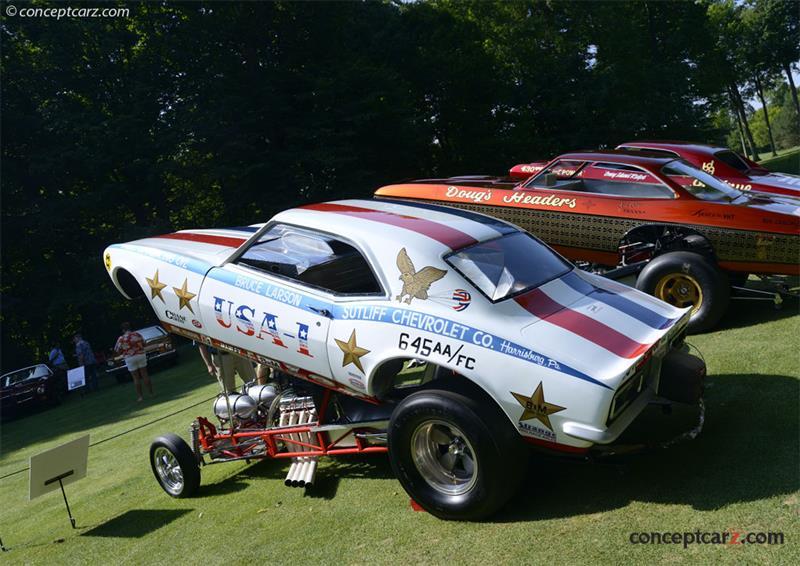 1968 Chevrolet Camaro Flip Top Funny Car