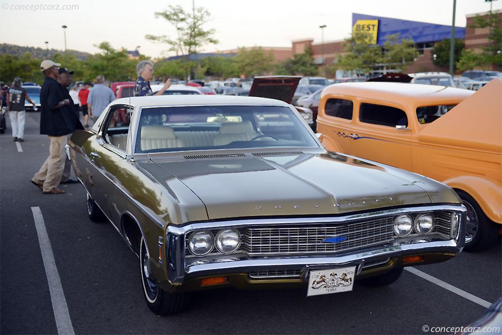 Bel Air Auto Auction >> 1969 Chevrolet Impala Pictures, History, Value, Research, News - conceptcarz.com