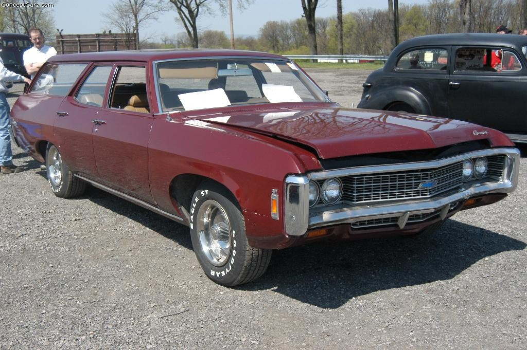 1969 Chevrolet Biscayne Brookwood Pictures, History, Value ...