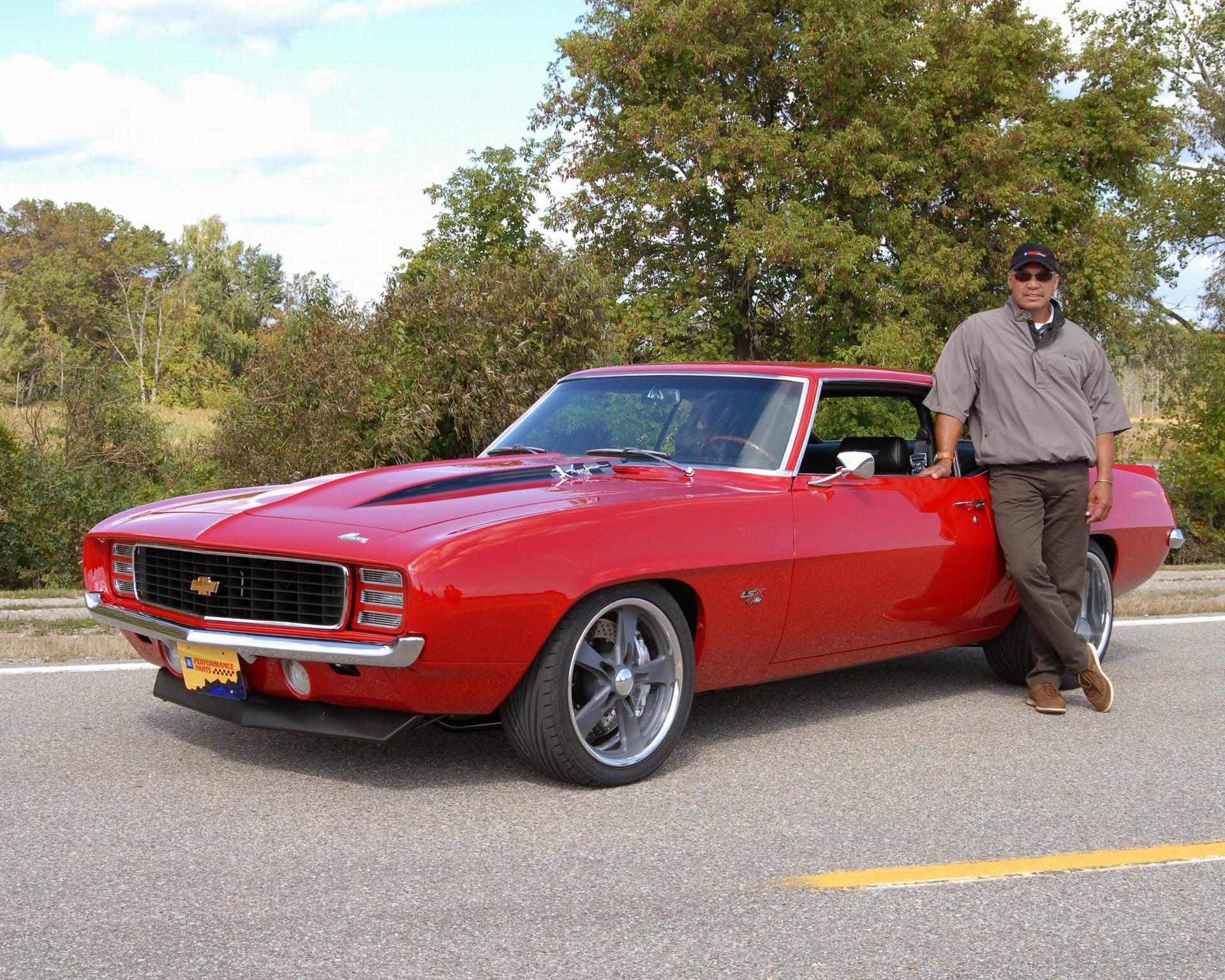 1969 Chevrolet Reggie Jackson Camaro History Pictures