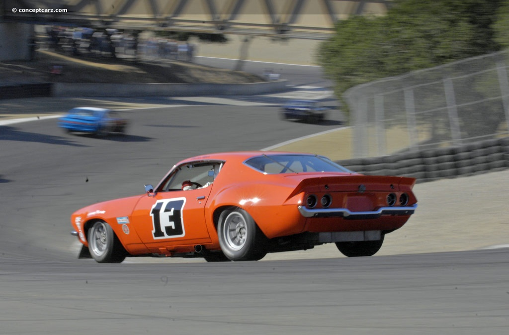 1970 Chevrolet Camaro Trans Am Racer History Pictures