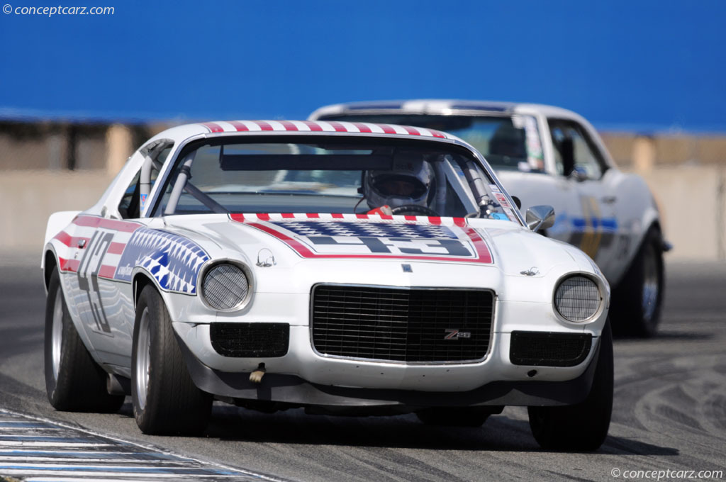1970 Chevrolet Camaro Trans Am Racer Image Chassis Number