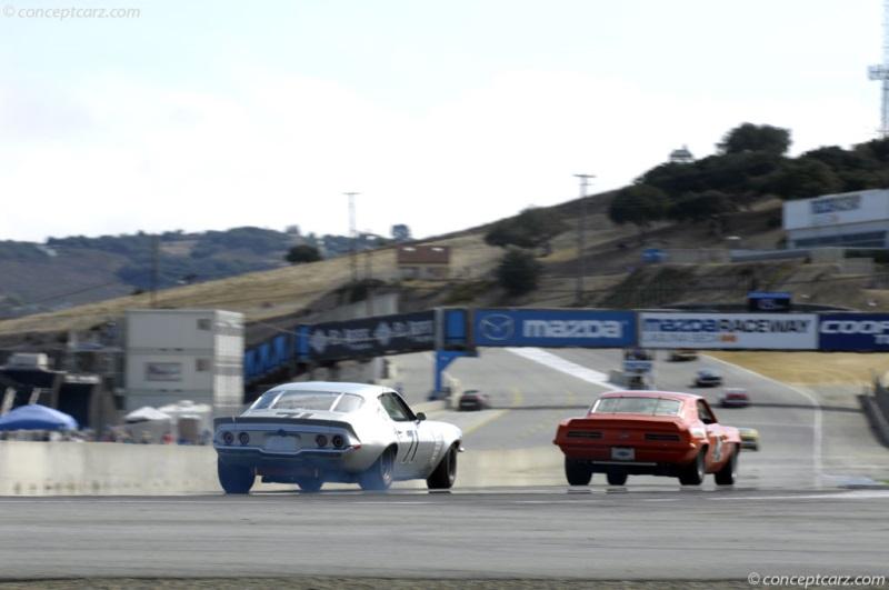 Chassis 124870n533646 1970 Chevrolet Camaro Series