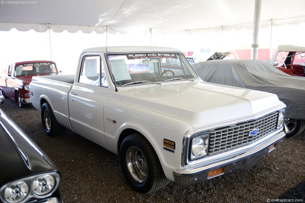 Chevy Monte Carlo 2015 >> Auction results and data for 1971 Chevrolet C10 - conceptcarz.com