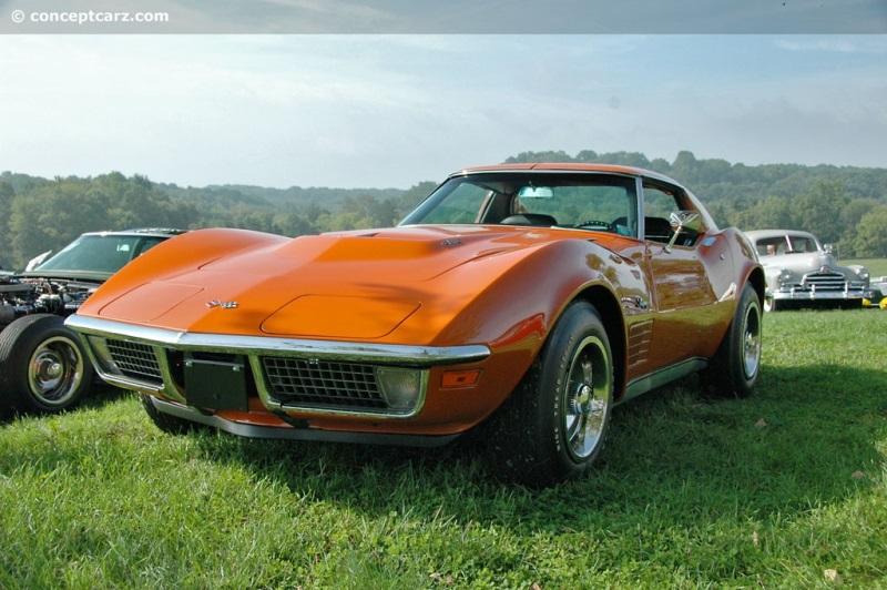 1971 Chevrolet Corvette C3 chassis information
